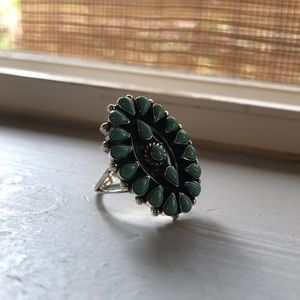 Jewelry - Native American Turquoise Ring Size 5
